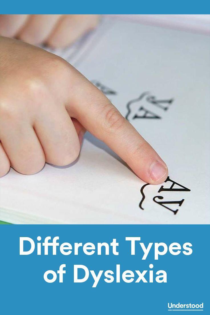 Different Types of Dyslexia | Dyslexia | Pinterest | Dyslexia ...