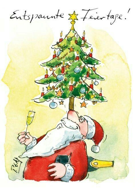 Weihnachtsgrube und guten rutsch