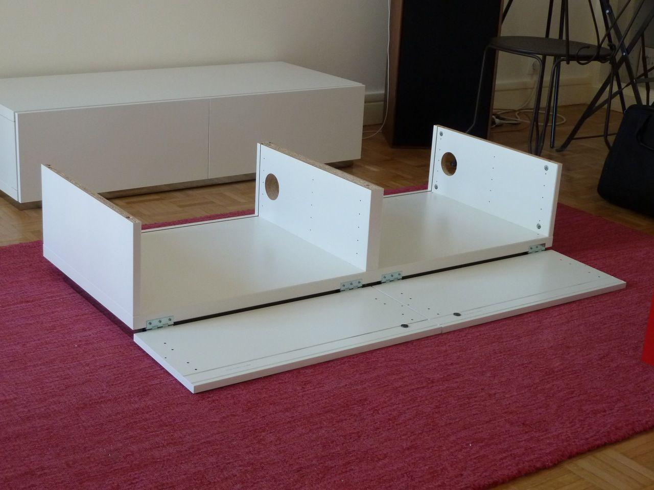 Meuble TV en mode IKEA hacking   Ikea, Ikea hack, Storage
