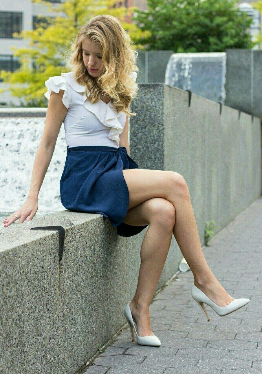Beijing Beauty Leg Skirt