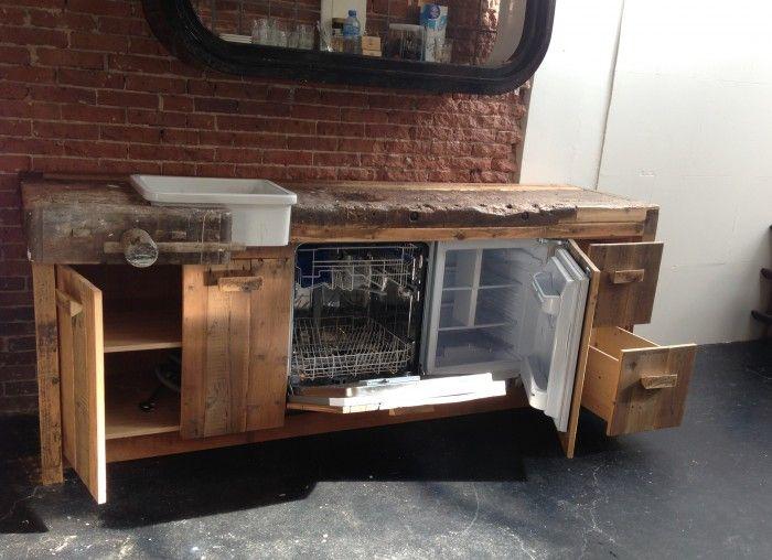 Oude werkbank in keuken google zoeken keukenindee n pinterest werkbank keuken en zoeken - Oude keuken decoratie ...