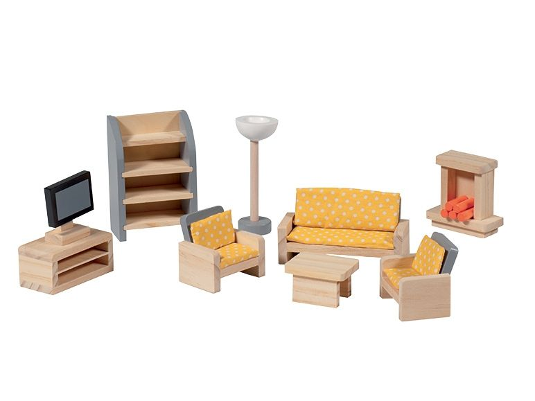 Accessoires pour maison de poup e lidl 8 99 au choix for Accessoire maison barbie