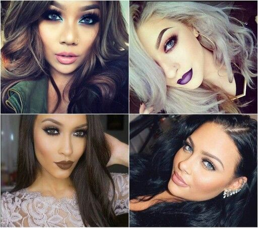 Make up foursome ... On point! !!