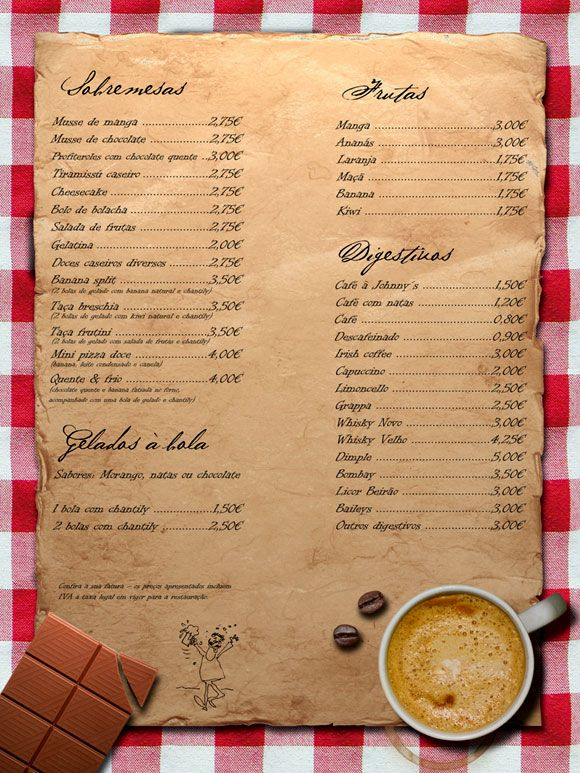 Ideas Para Hacer Dise O Carta Menu Restaurante Handy