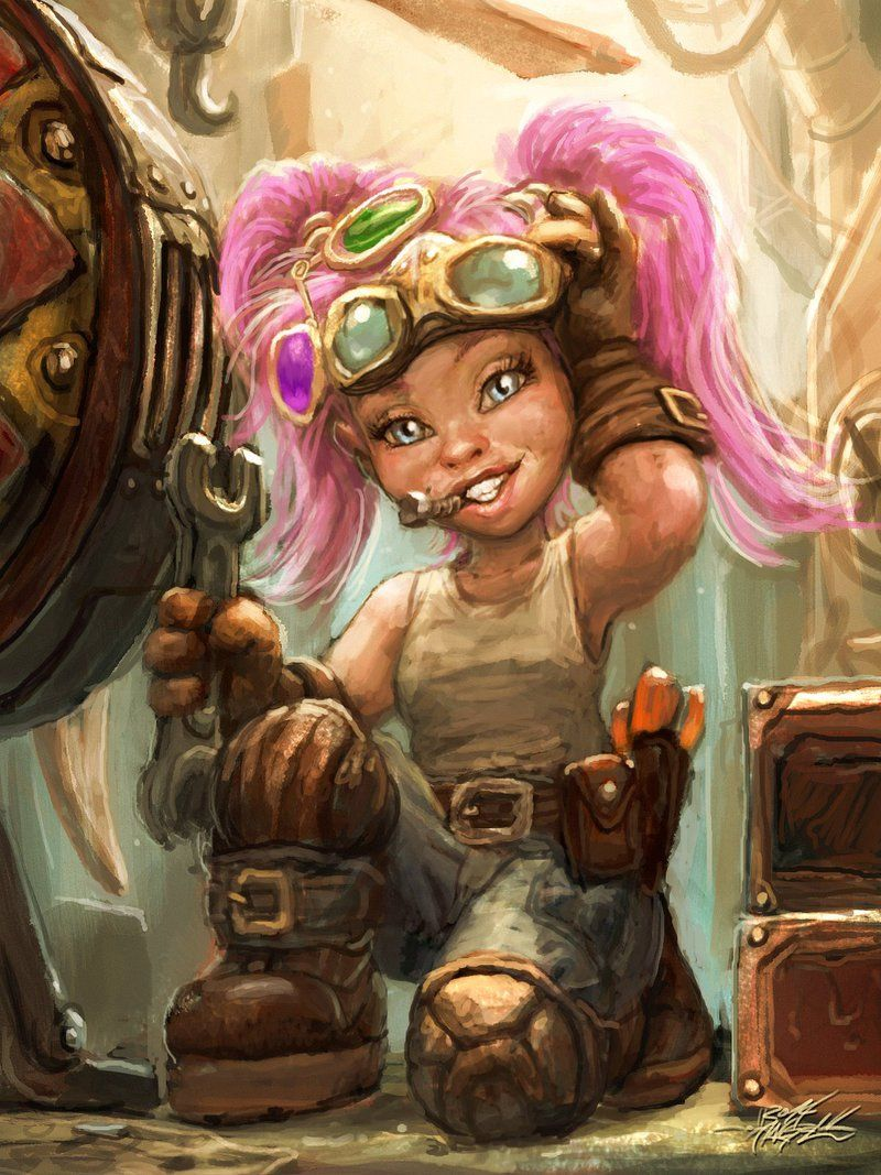 Female Gnome: Gnome Engineering By TheFirstAngel On DeviantART …