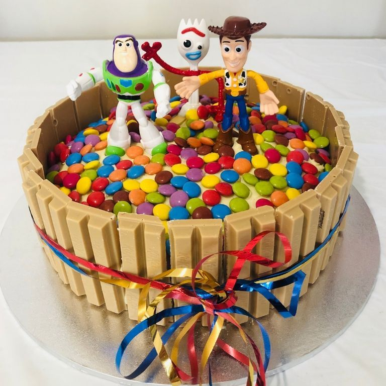Diy Toy Story Party Ideas With Images Toy Story Birthday Cake