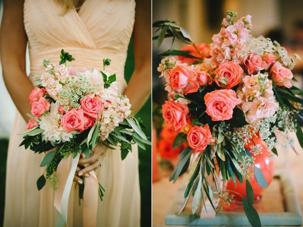 50 Beautiful Coral Flower Arrangements Inspirations   Flower ...