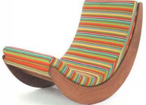 Sedie A Dondolo Depoca : Sedia a dondolo stravagante idee per la casa sedie dondolo