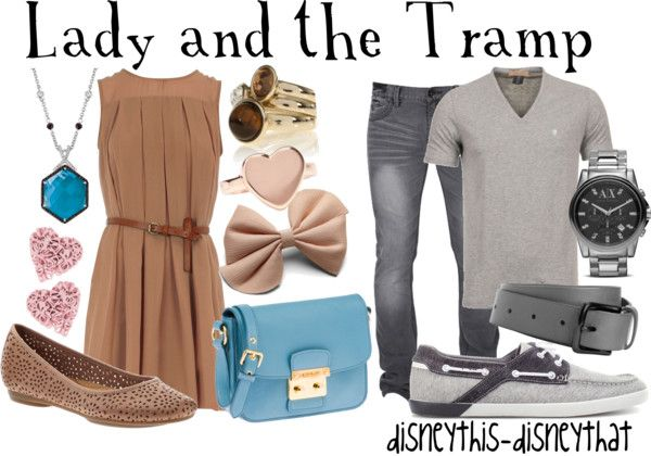 """Lady and the Tramp"" by disneythis-disneythat on Polyvore"