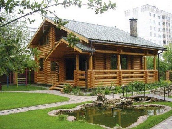 Desain Rumah Kayu Yang Minimalis Rumah Kebun Pinterest