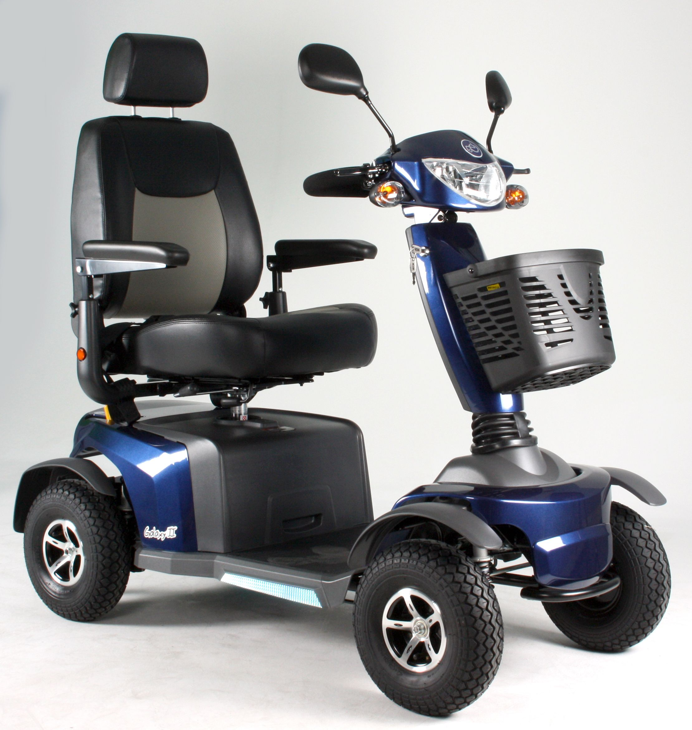 VanOs Medical Excel Galaxy ll 4 scooter. Whether buying