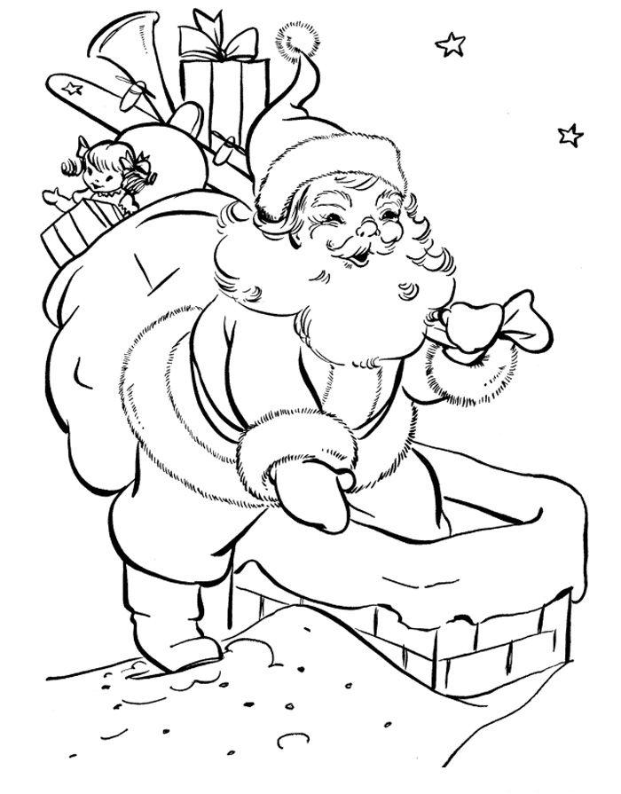 Santa Claus Coloring Pages http://procoloring.com/santa-claus ...