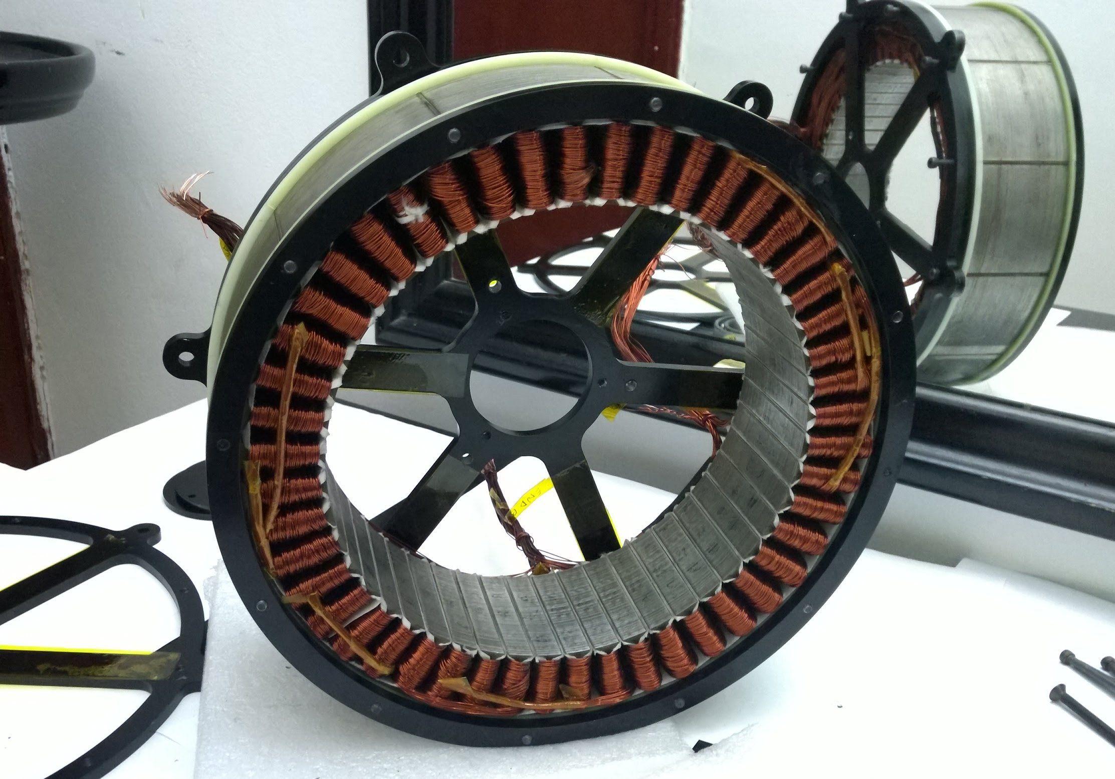 45kw Dc Brushless Motor Construction Electric Motor Electric Car Conversion Motor Generator