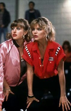 Michelle Pfeiffer In Grease 2 1982 Bowling Outfit Movies Outfit Bowling Shirts