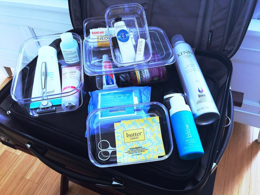 Toiletry Packing