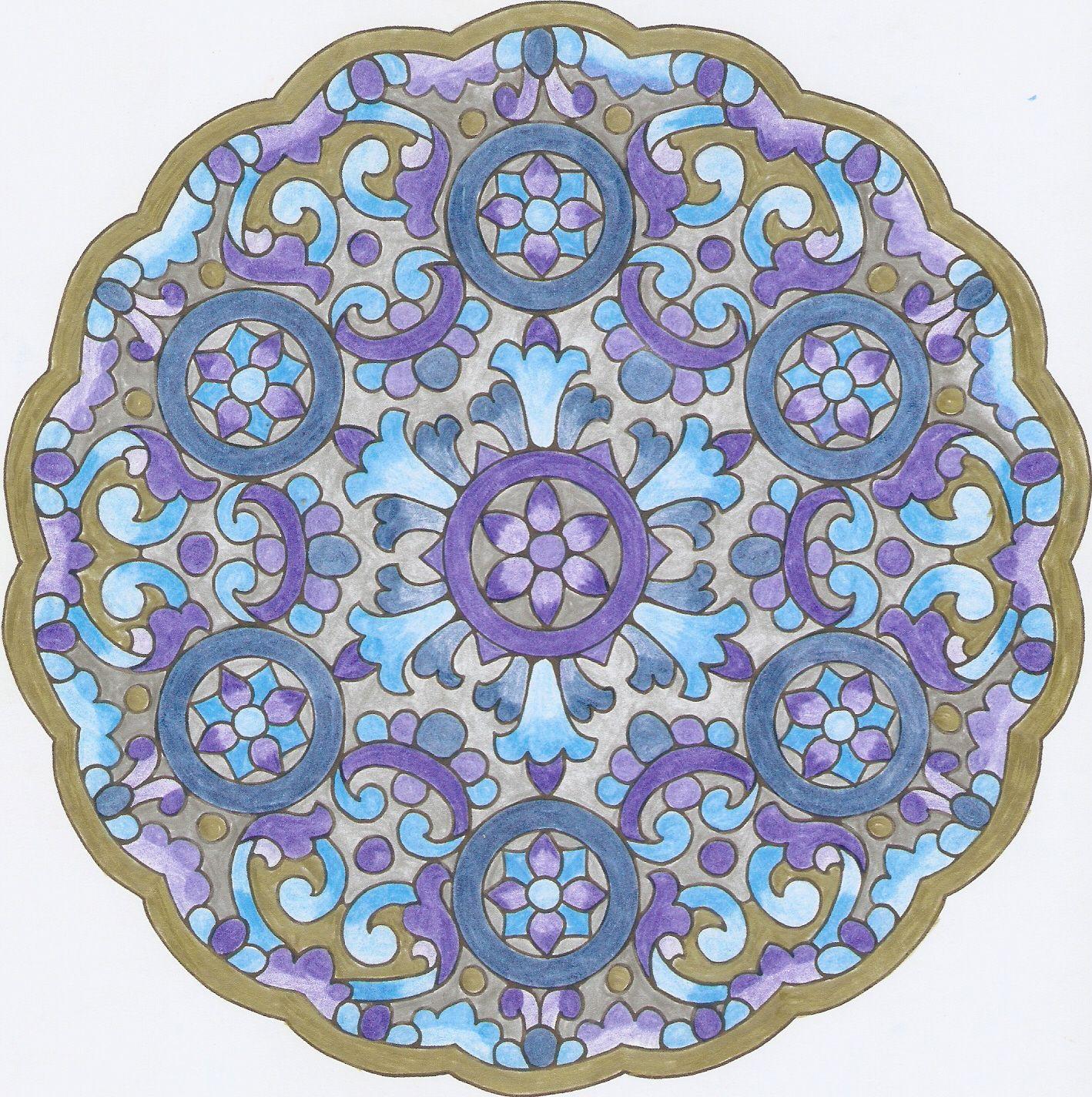 Mandala Andaluz 3 Mandalas Fractales