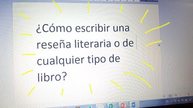 Cómo Escribir Una Reseña Literaria O De Cualquier Libro Cómo Escribir Escribir Tipos De Texto