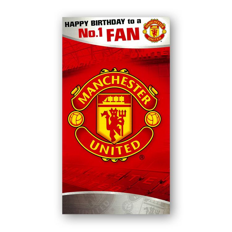 Manchester United Football Club Birthday Card From Dormouse Cards Happy Birthday Dad Cards Dad Birthday Card Happy Birthday Dad