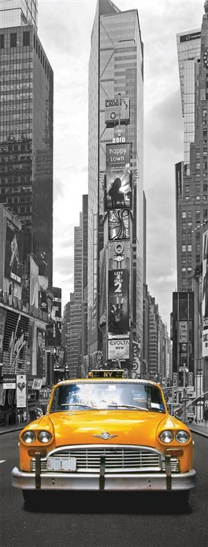 Time Square Taxi, NYC