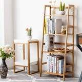Multifunctional Natural Bamboo 4 Shelf