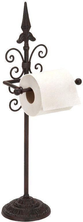 Benzara 66506 Metal Toilet Paper Holder With Different Look