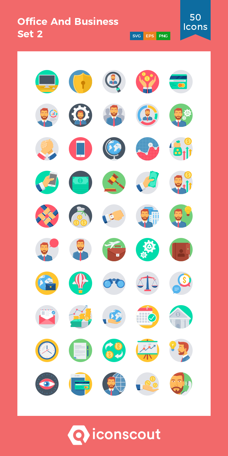 Download Download Office And Business Set 2 Icon pack - Available ...