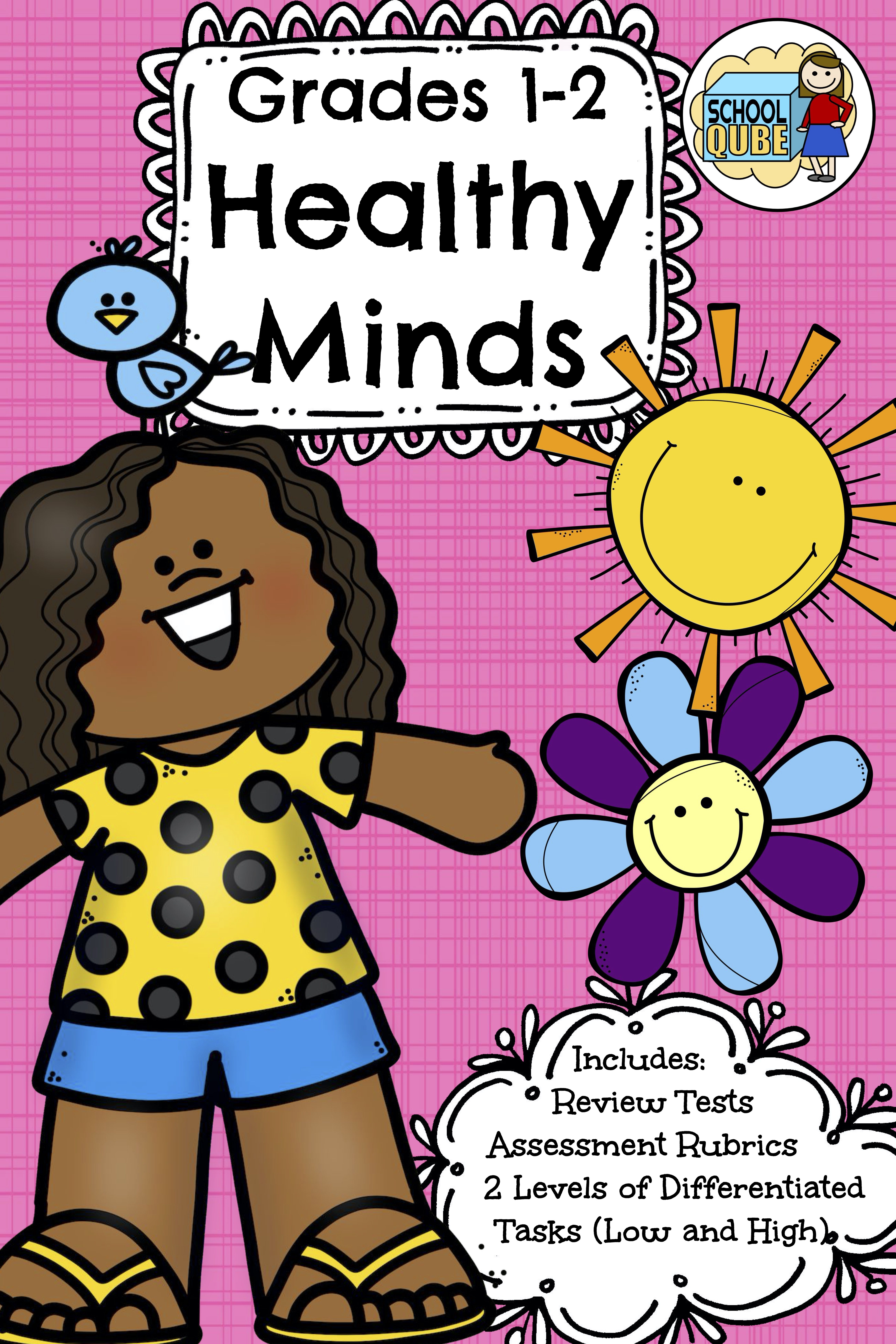 Healthy Minds Grades 1 2 Differentiated In