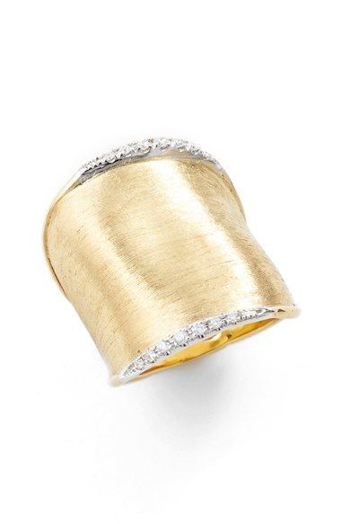Marco Bicego 'Lunaria' Diamond Ring available at #Nordstrom