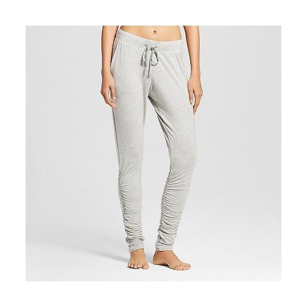 sWEat by Whitney Port ($35) ❤ liked on Polyvore featuring activewear, activewear pants and heather gray