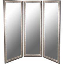 Three Way Mirror Buy Three At Hobby Lobby And Attach Three Way Mirror Closet Renovation Mirror Decor