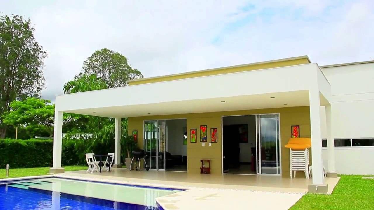 Exclusivas Casas Campestres En Cerritos Pereira Conjunto Cerrado Casas Campestres Casas Arquitectura Contemporanea