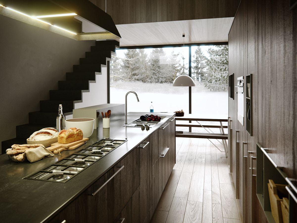 Inspired By Kalea Kitchen, By Cesar. Modeling In Max, Rendering In Corona.