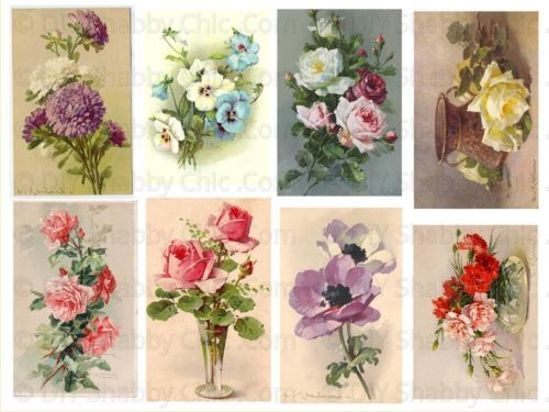 Merveilleux FRENCH FURNITURE DECAL  DIY SHABBY CHIC IMAGE TRANSFER VINTAGE LABEL ROSE KLEIN