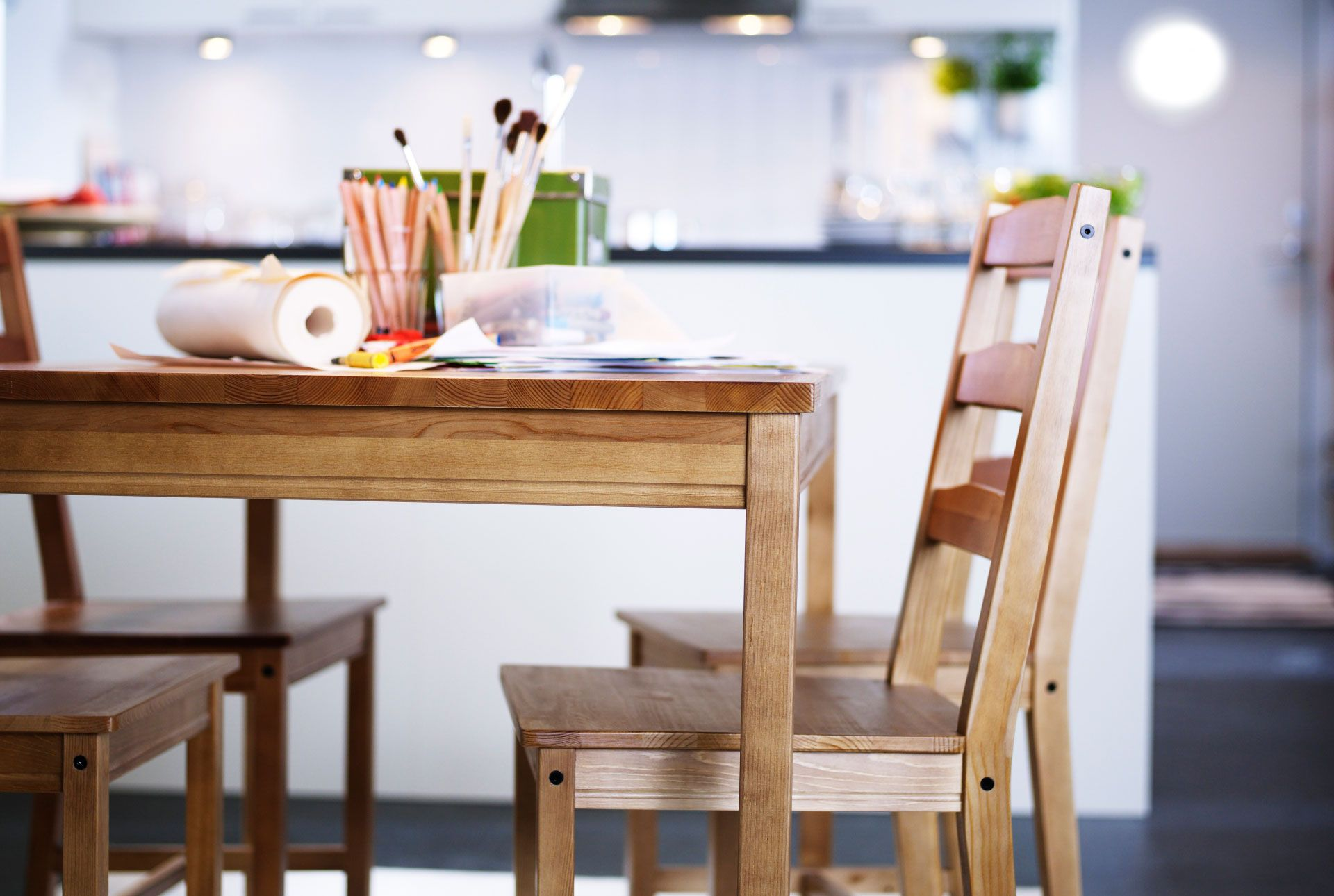 Pin by silents on haha Jokkmokk, Wood dining table, Ikea
