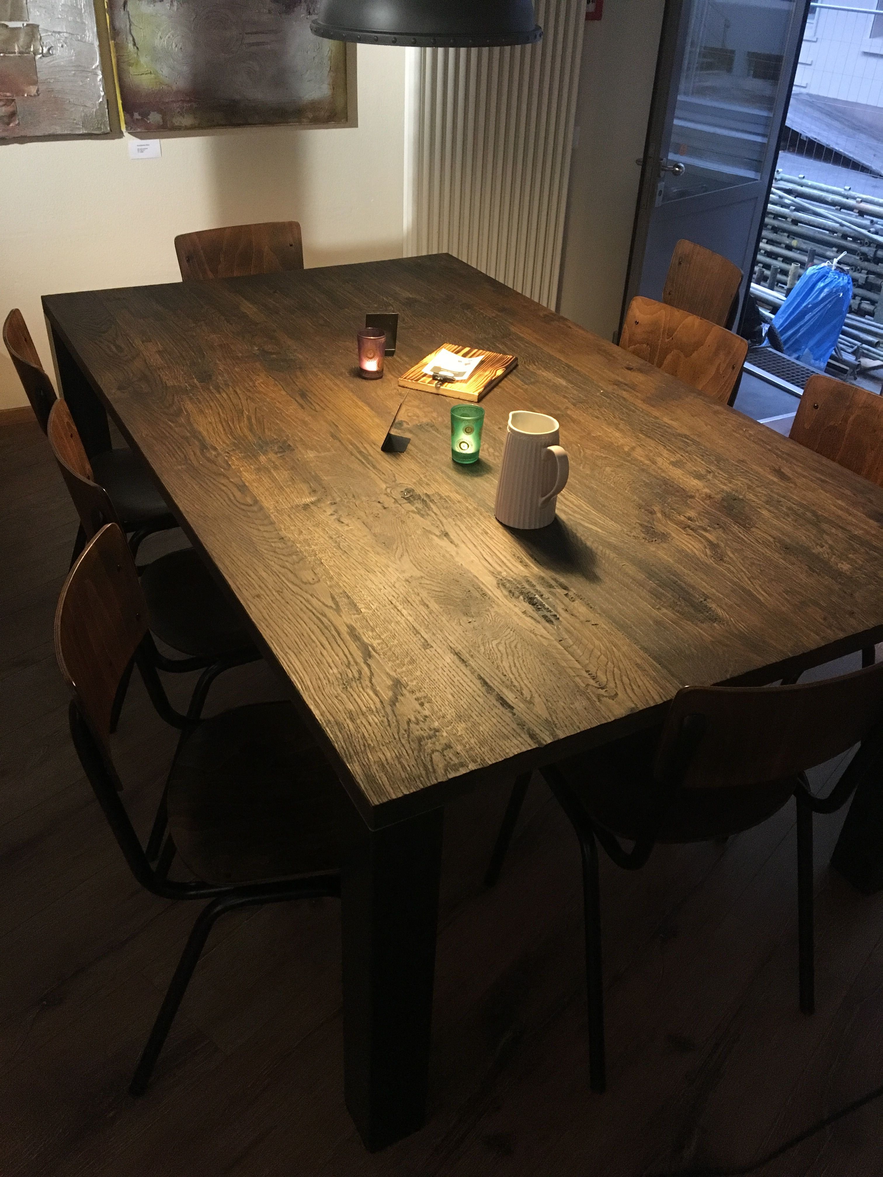 Tisch Rustikal eiche massivholztisch rutikal rustikal massivholztisch eiche