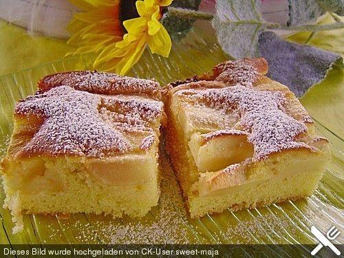 Apfelkuchen Schnell Und Fein Rezept Kuchen Rezepte Backen