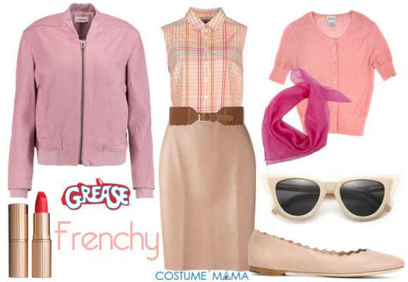 frenchy grease costume halloween costume pinterest