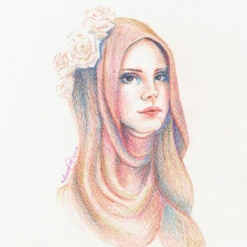 Lana in hijab!