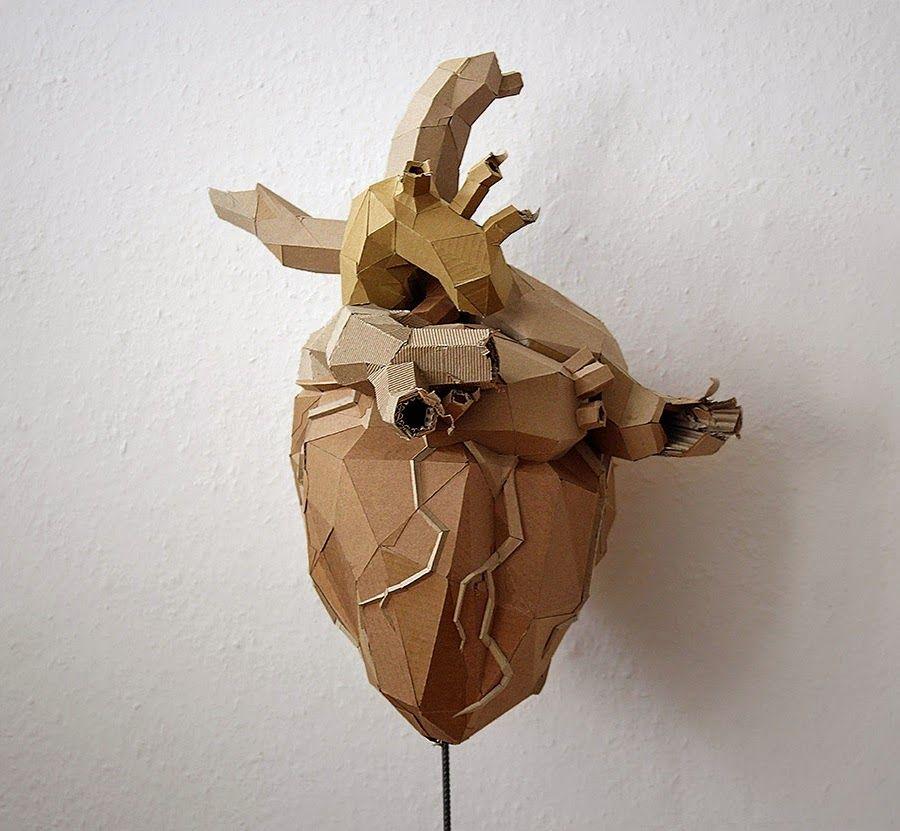 Simply Creative: Cardboard Sculptures by Bartek Elsner   Material ...