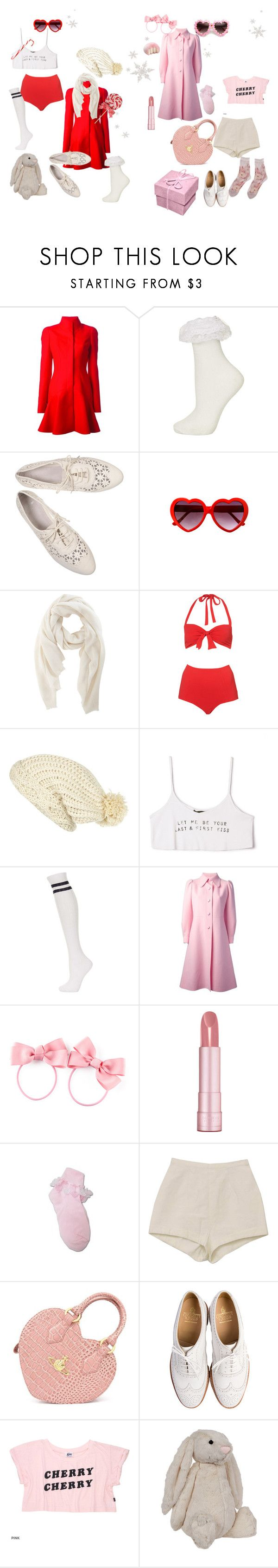 """""""Merry Christmas Nymphets"""" by rabbitcult ❤ liked on Polyvore featuring Alexander McQueen, Topshop, Denis Colomb, River Island, Forever 21, Sartoria Italiana Vintage, H&M, Bourjois, Vivienne Westwood and Crockett & Jones"""