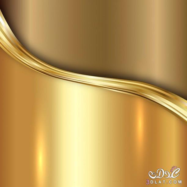 خلفيات دينيه للتصميم خلفيات إسلاميه للتصميم جديده وحصريه Gold Wave Wallpaper Digital Wallpaper Texture Graphic Design