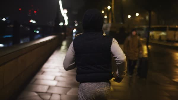 Running at night?  Here are 11 tips to help keep you safe!