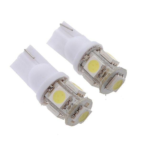 T10 501 LED SMD Car Light Bulb Socket Holder Connector 2 Free standard Bulbs