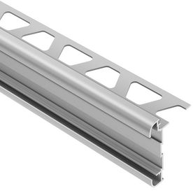 Schluter Systems 0 5 In W X 98 5 In L Aluminum Commercial
