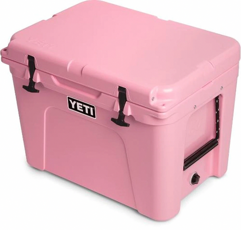 Limited Edition Pink Yeti Tundra 50 Cooler Blue Ridge Mountain Outfitters In 2020 Yeti Tundra Yeti Roadie Pink Yeti