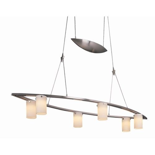 George Kovacs Kp8026084 Counter Weights Multi Light Pendant Brushed Nickel At Ferguson