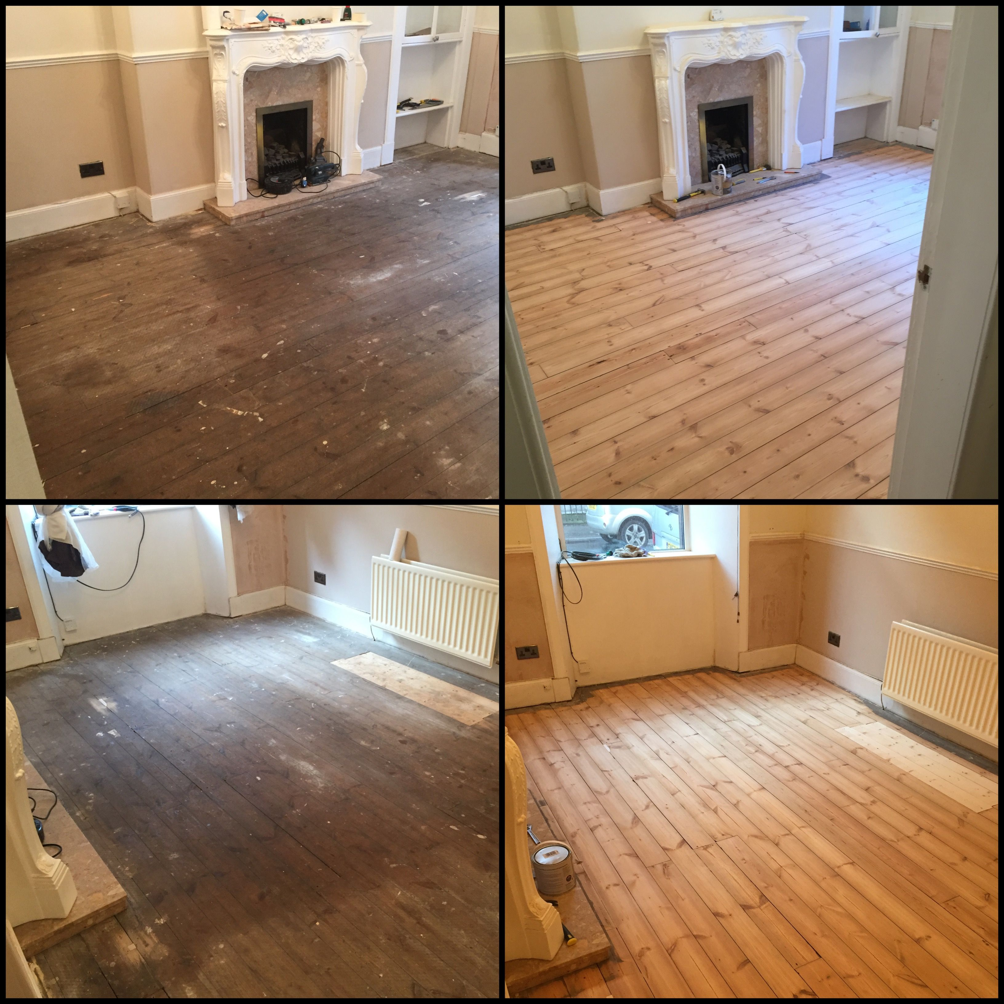 Should have just soaked the floor in wood, would have been quicker - Imgur