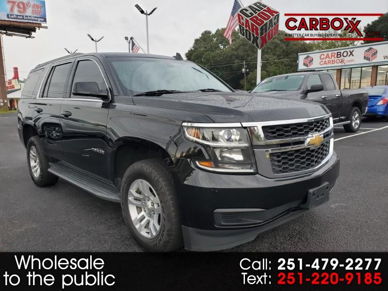 2016 Chevrolet Tahoe LS 2WD Chevrolet tahoe, Black chevy