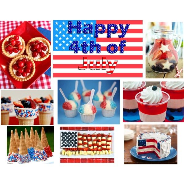 Yummy 4th of July snacks and sweets :D