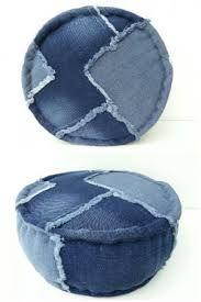 Bilderesultat for poef maken jeans